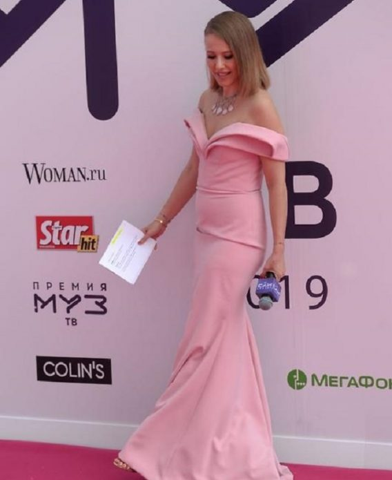 Ксения Собчак МузТВ-2019
