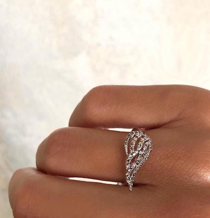 Фигурное кольцо