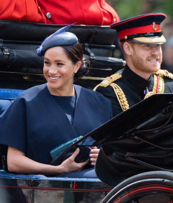 Меган Маркл на параде в честь королевы