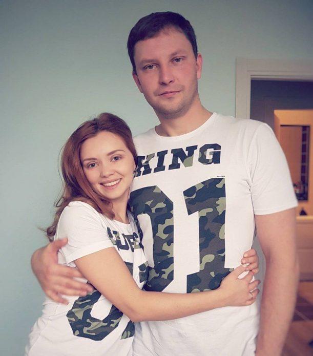 Кузьмина с мужем