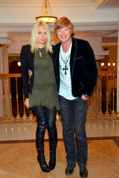 Андрей Григорьев-Аполлонов с женой