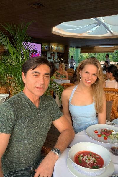 Ольга Казаченко и Степан