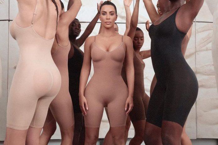 Ким Кардашьян запустила собственную линию утягивающего белья