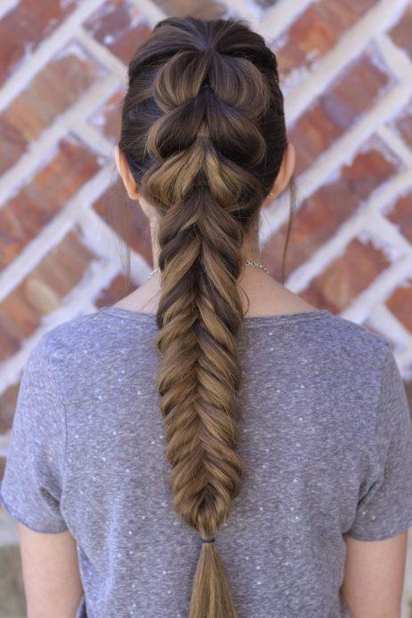 Коса «рыбий хвост»