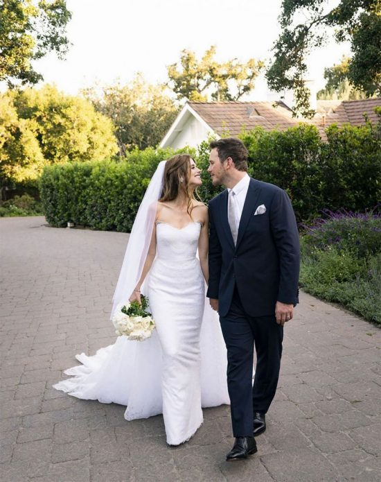 Крис Пратт свадьба