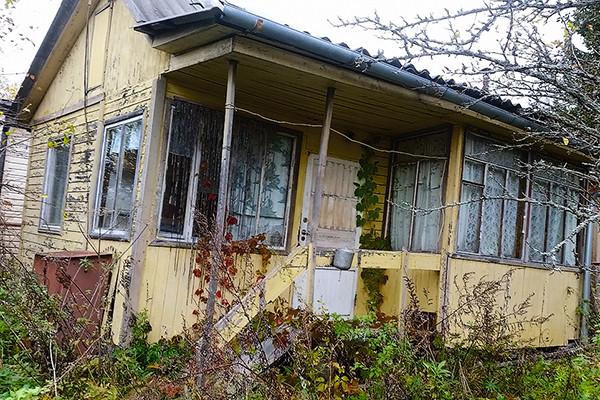 Дом, который якобы Панфилов оставил прошлой семье