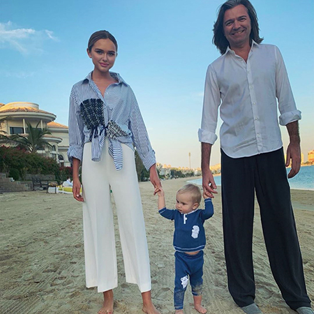 Дмитрий Маликов с детьми