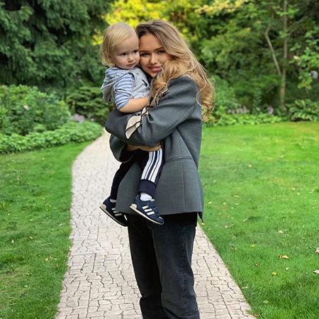 Стефания Маликова с братом
