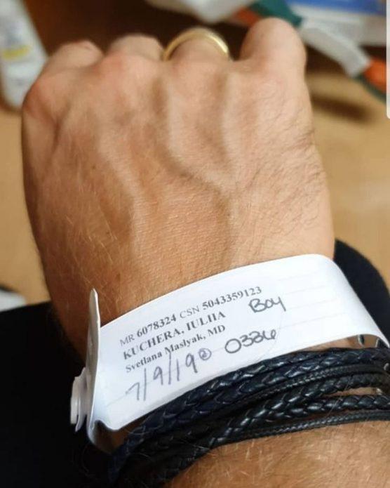 Оскар Кучера стал отцом в пятый раз