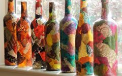 расписные бутылки