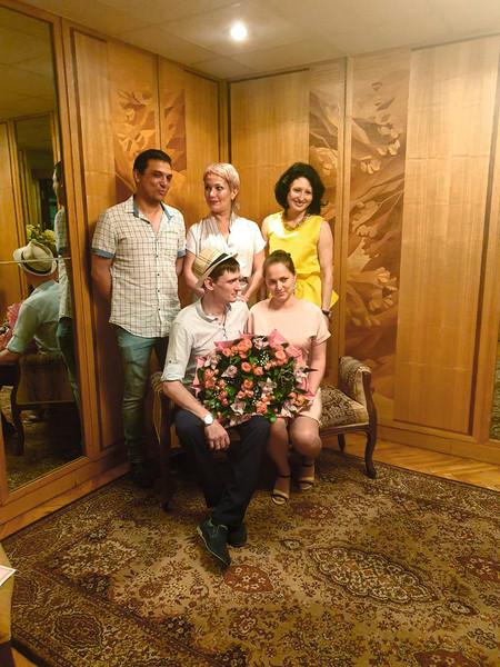 Пугачёв с женой Гузель