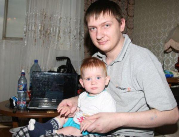 Пугачёв с сыном