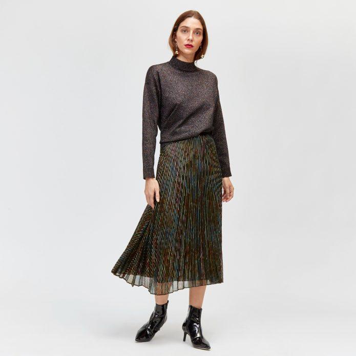 Блестящая юбка