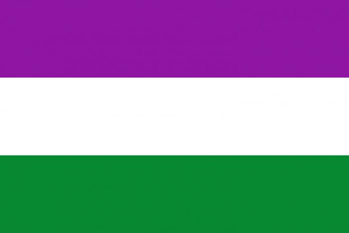 Флаг сообщества гендерквиров