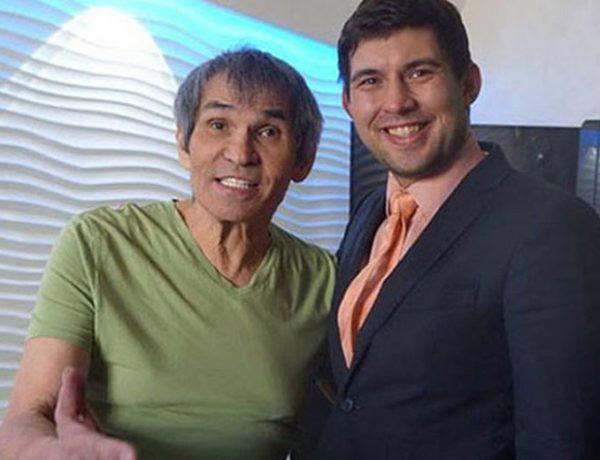 Бари Алибасов и сын