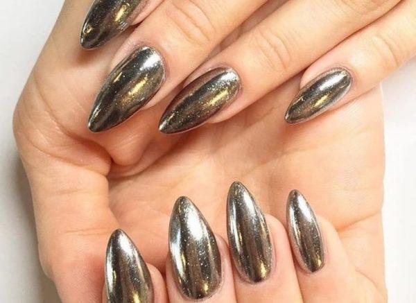 Металлик-ногти