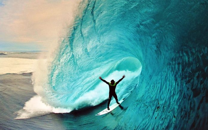 сёрфинг, волна