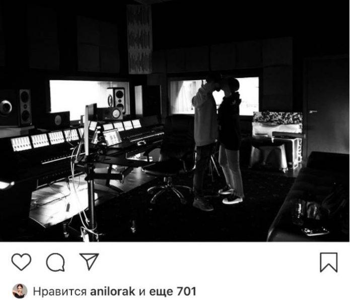 Ани Лорак и поцелуй