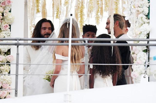 Хайди Клум и Том Каулитц свадьба