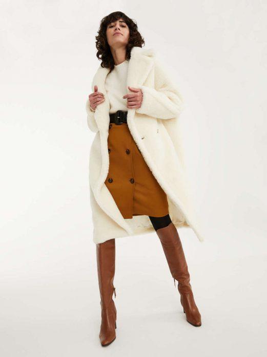 Плюшевое пальто