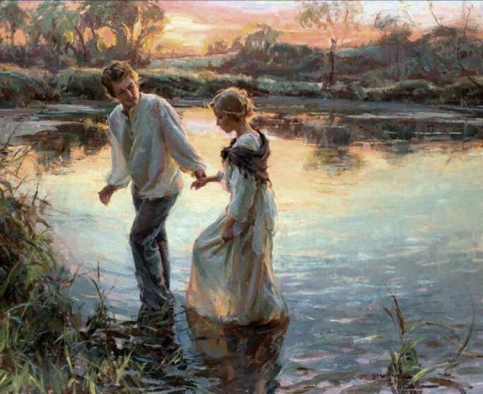 Двое влюблённых