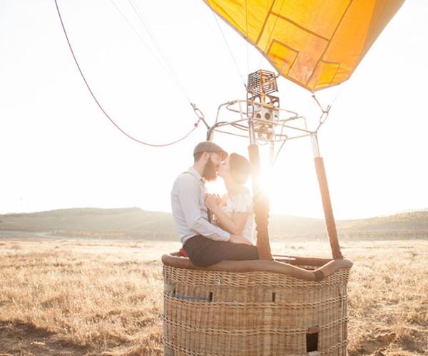 Двое на воздушном шаре