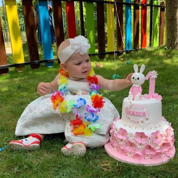 Кудрявцева первый день рождения дочки