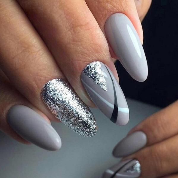 серое серебро — дополнение к серому