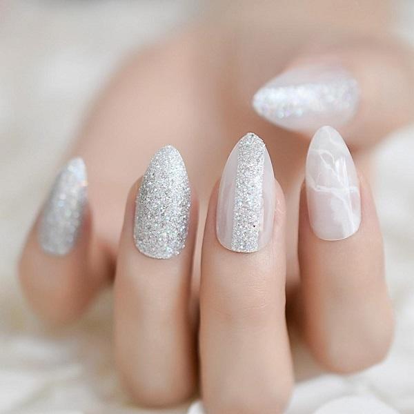 белое серебро блеск
