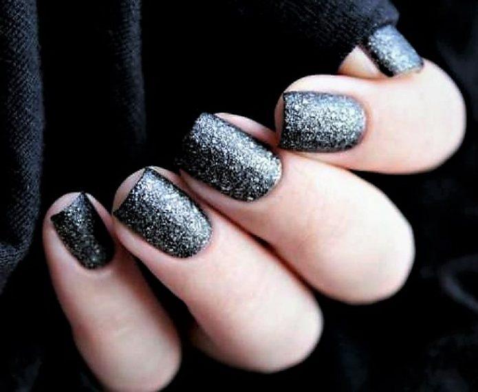 серебро черное