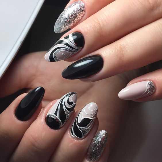 орнаменты с серебром