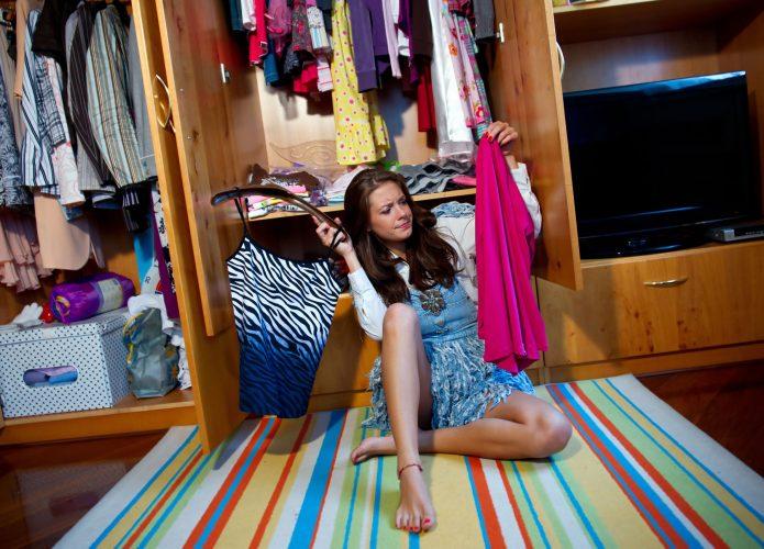 Менять гардероб