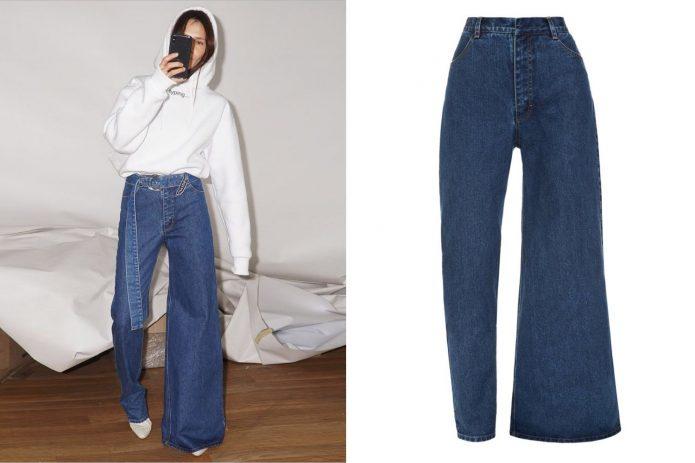 Асимметричные джинсы
