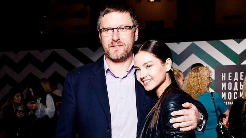 Алеся Кафельникова помирилась с отцом