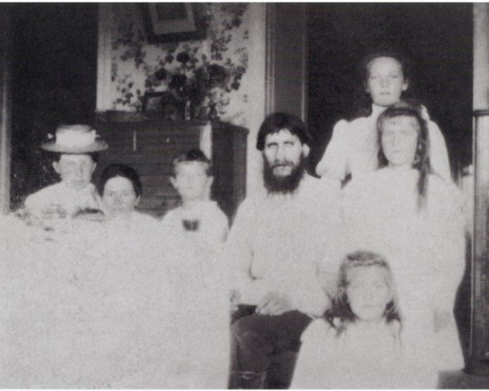 Григорий Распутин и царские дети