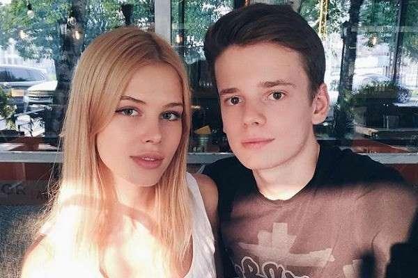 Анна Аверьянова и Арсений