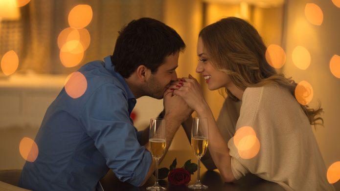 Романтическое знакомство