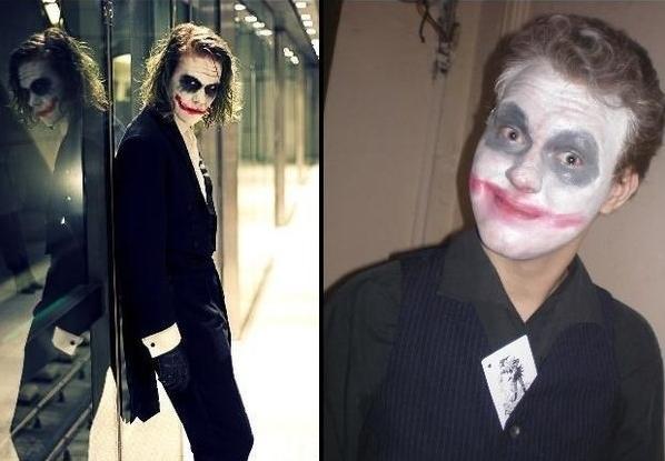Неудачный косплей Джокера