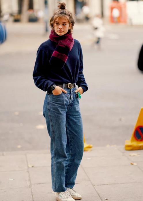 Образ с джинсами для офиса