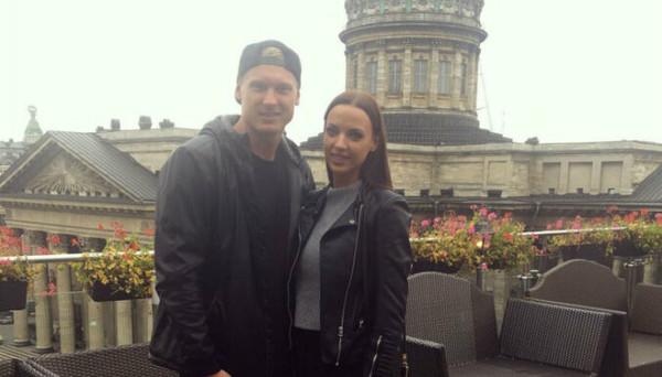 Янис Тимма с женой