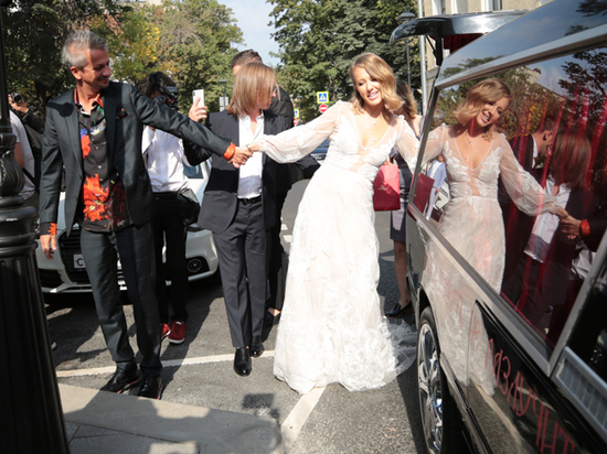 Собчак свадьба Богомолов