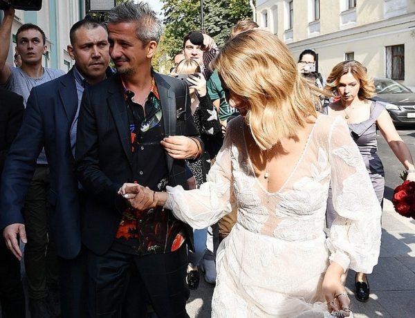 свадьба Собчак и Богомолов