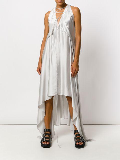 Элегантное платье в пижамном стиле