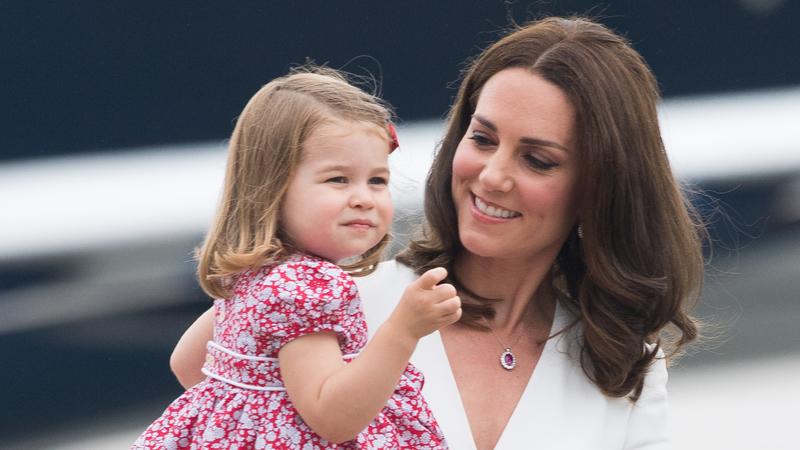 Дочь Кейт Миддлтон случайно рассказала о её беременности