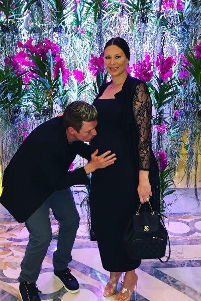 Ник Картер с женой