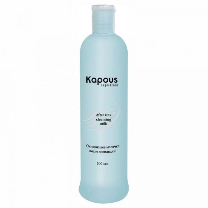 Очищающее молочко после депиляции Kapous