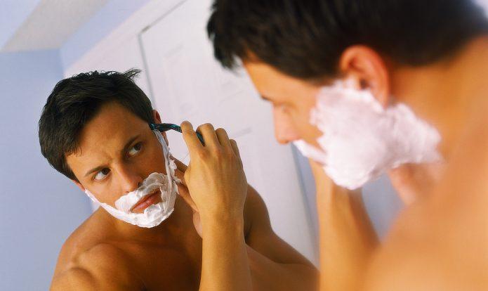 правильное бритьё