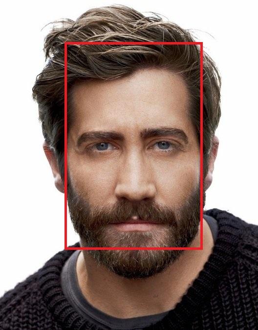 Прямоугольная форма лица Джейка Джилленхола