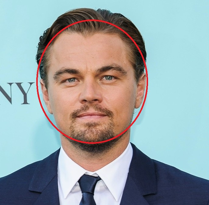 Круглое лицо Леонардо Ди Каприо