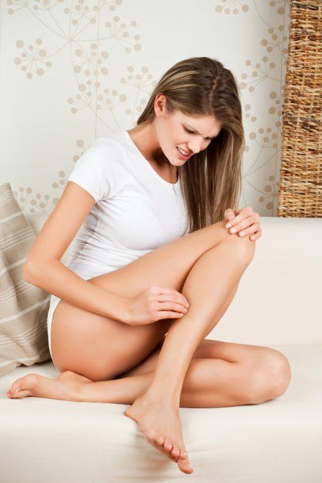 зуд после бритья ног
